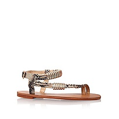 Carvela - Nude 'Kipper' flat sandals