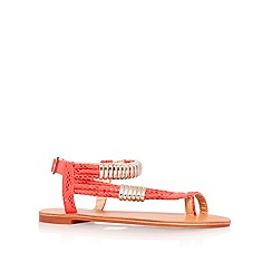Carvela - Fushia 'Klipper' flat sandals