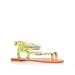 Carvela - Lime 'Klipper' flat sandals