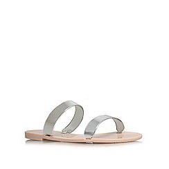 Carvela - Nude 'Keepsake' flat sandals