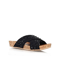 Carvela - Black 'Karate' flat sandals