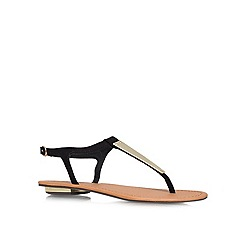 Carvela - Black 'Kindres' Flat Sandals
