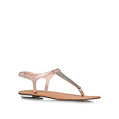 Carvela - Gold 'Kindres' Flat Sandals