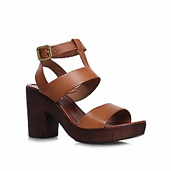 Carvela - Tan 'kolt' high heel sandals
