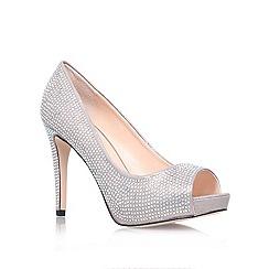 Carvela - Silver 'Grind' high heel court shoes
