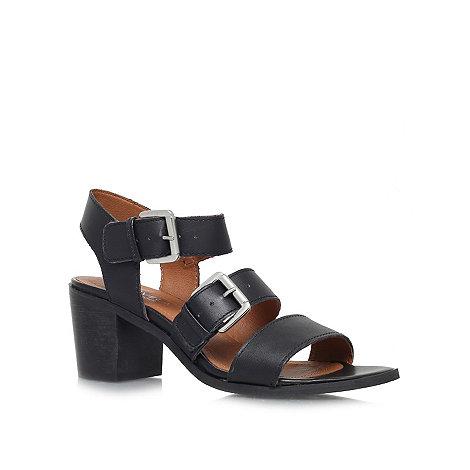 Carvela - Black +Kommand+ mid heel sandals