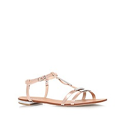 Carvela - Bronze 'kinetic' flat sandals