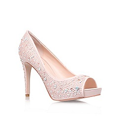 Carvela - Pink 'Grin' high heel platform court shoes