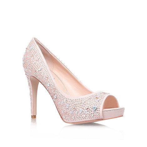 Carvela - Pink +Grin+ high heel platform court shoes