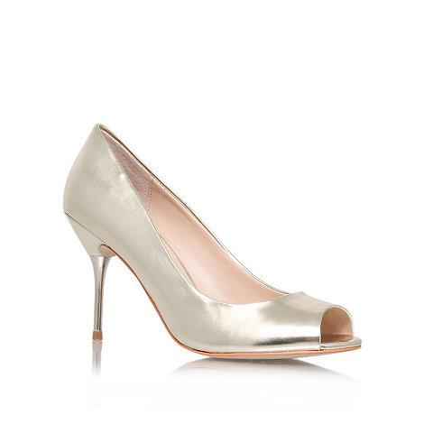 Carvela - Champagne +Geradine+ high heel court shoes