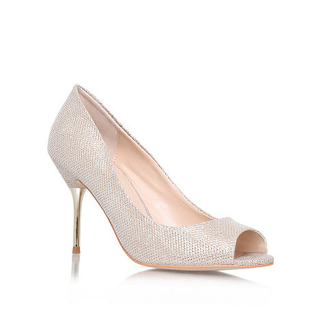 Carvela - Bronze +Geradine+ high heel court shoes