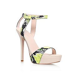 Carvela - Yellow 'Gown' high heel sandal