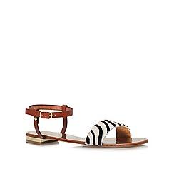 Carvela - Tan 'Koala' flat sandals