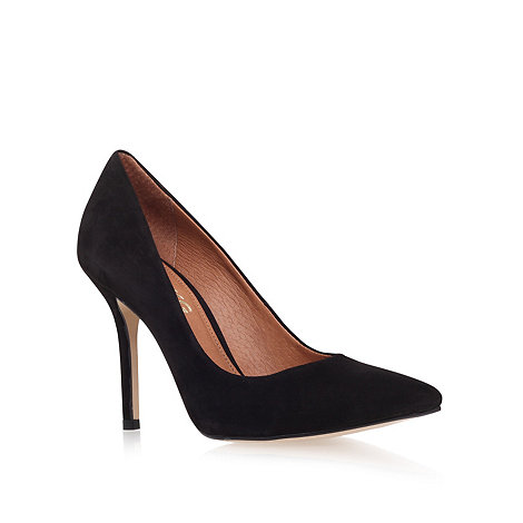 Miss KG - Black +anabela+ high heel court shoes