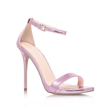 Carvela - Pink +Glacier+ high heel sandals