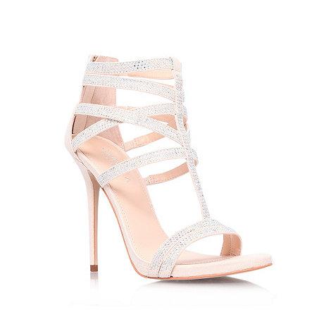 Carvela - Nude +Glaze+ high heel sandals