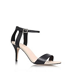 Carvela - Black 'Kollude' mid heel sandals