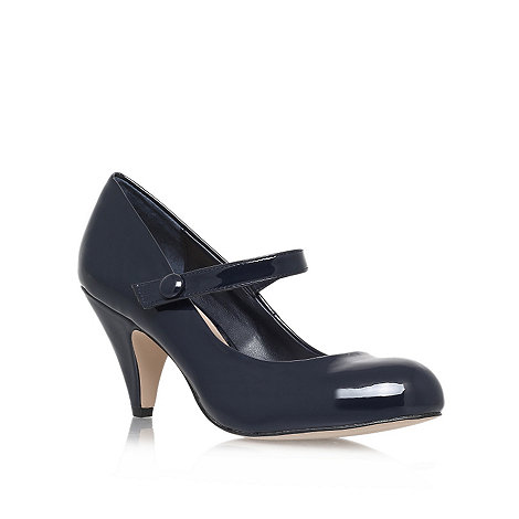 Carvela - Blue +Kollar+ court shoe
