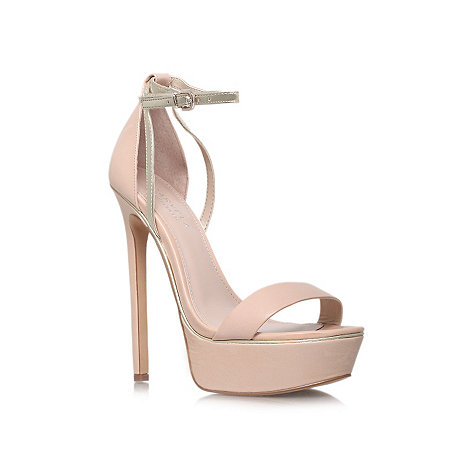 Carvela - Nude +Graph+ high heel occasion shoes