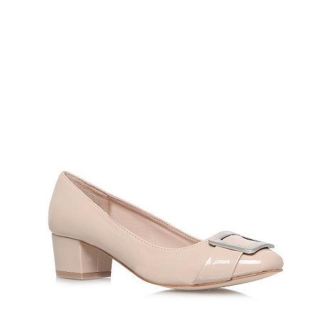 Carvela - Nude +Kiki+ low heel court shoes