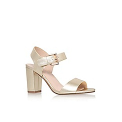 Carvela - Gold 'sadie' high heel sandal