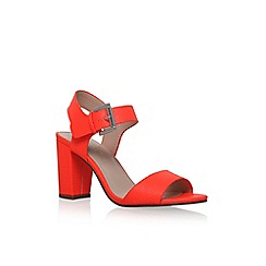 Carvela - Orange 'Sadie' high heel sandal