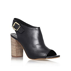 Carvela - Black 'Asset' high heel peep toe shoes