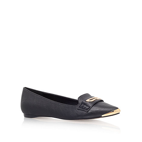 Carvela - Black 'Mack' flat slipper shoes