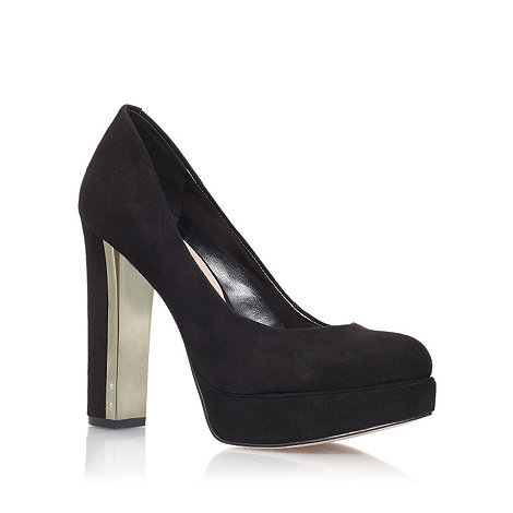 Carvela - Black +Automatic+ high heel court shoes
