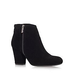 Carvela - Black ' Super ' Mid Heel Ankle Boots