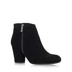 Carvela - Black 'Super' Mid Heel Ankle Boots