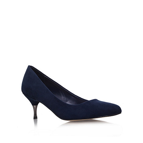 Miss KG - Miss KG +Caitlyn+ navy low heel court shoes