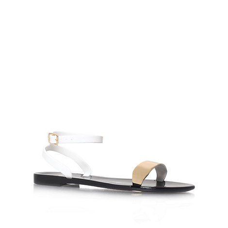 Nine West - Gold +Barnacle3+ flat sandals