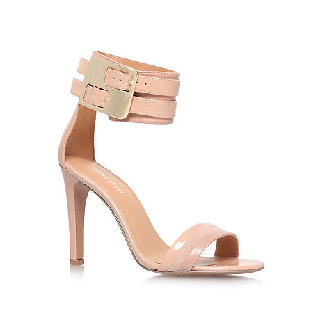 Nine West - Tan +Estrilada+ high heel sandals