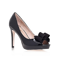Miss KG - Black 'Caroline' high heel court shoes
