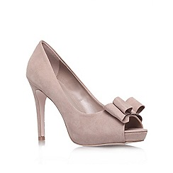 Miss KG - Miss KG 'Caroline' taupe high heel court shoes