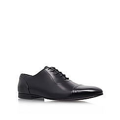 KG Kurt Geiger - Black 'Isaac' flat lace-up shoes