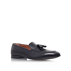 KG Kurt Geiger - Black 'Landon' flat loafer shoes