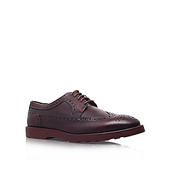KG Kurt Geiger - Wine 'Gabriel' flat brogue shoes