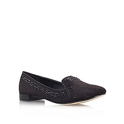 Miss KG - Black 'Nico' flat slipper shoes