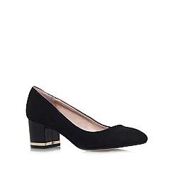 Miss KG - Black 'Cassandra' mid heel court shoes