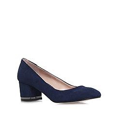 Miss KG - Navy 'Cassandra' mid heel court shoes