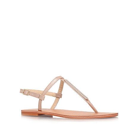 Carvela - Tan +Betty+ flat sandals