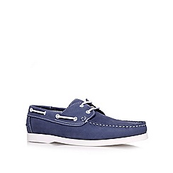 KG Kurt Geiger - Blue 'Cowes' flat boat shoes