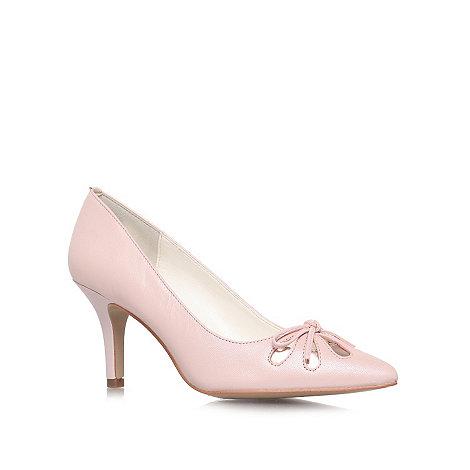 Anne Klein - Nude +Yasmeen+ mid heel court shoes