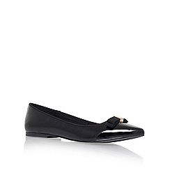 Miss KG - Black 'nanette' flat slipper shoes
