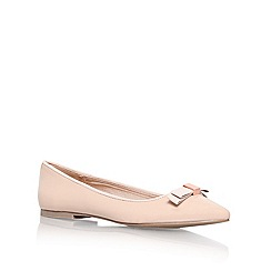 Miss KG - Nude 'nanette' flat slipper shoes