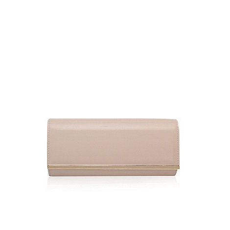 Miss KG - Nude +Tamera+ clutch bag