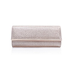Miss KG - Grey 'Tamera' clutch bag