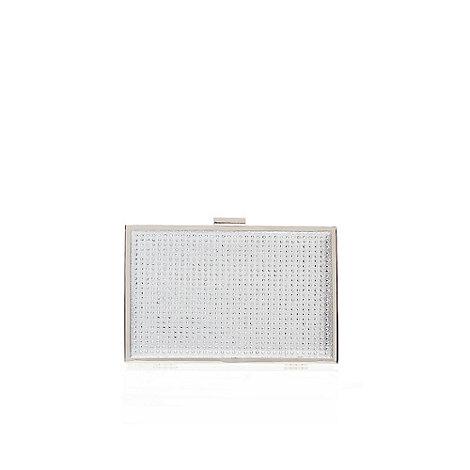 Miss KG - Silver +Tina+ clutch bag
